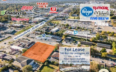 Retail Space Under $1,000/Month Just Off Nicholasville Road