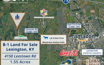 1.55 Acres of B-1 Property For Sale in Lexington