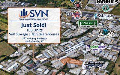 Just Sold! Self Storage Facility 237 Industry Parkway Nicholasville, KY