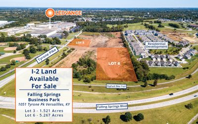 Falling Springs Business Park I-2 Lots For Sale