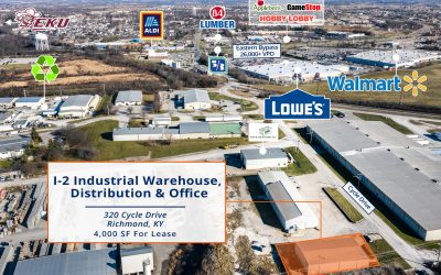 320 Cycle Drive | 4,000 SF Industrial Building for Lease in Richmond, KY