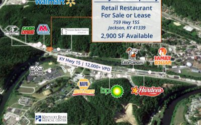 JUST LISTED: FORMER PIZZA HUT JACKSON, KY