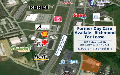 JUST LISTED | Former Richmond, KY Day Care For Lease