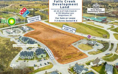 JUST LISTED: Falls Creek Development Land For Sale or Lease