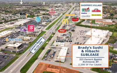 Eastern Bypass Retail SUBLEASE Opportunity – 525 Eastern Bypass, Richmond