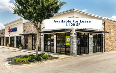 JUST LISTED –  Kroger Shadow-Anchored Retail with Drive-Thru